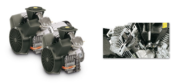 Comprar Compresor de piston 1,5-15KW / 2-20CV serie L