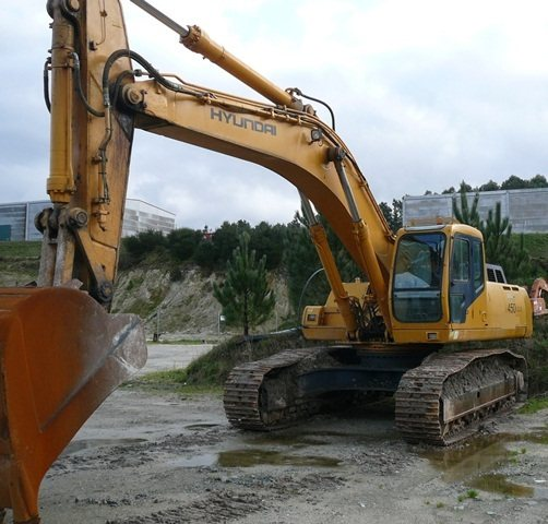 Comprar Excavator hyundai 450 lc