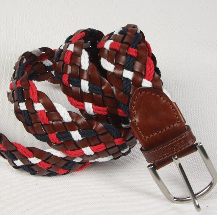 Comprar Cinturón Trenzado Piel