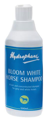 Comprar CHAMPU HYDROPHANE BLOOM WHITE PARA CABALLOS TORDOS