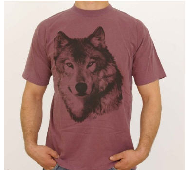 Comprar CAMISETA ANIMALS: LOBO