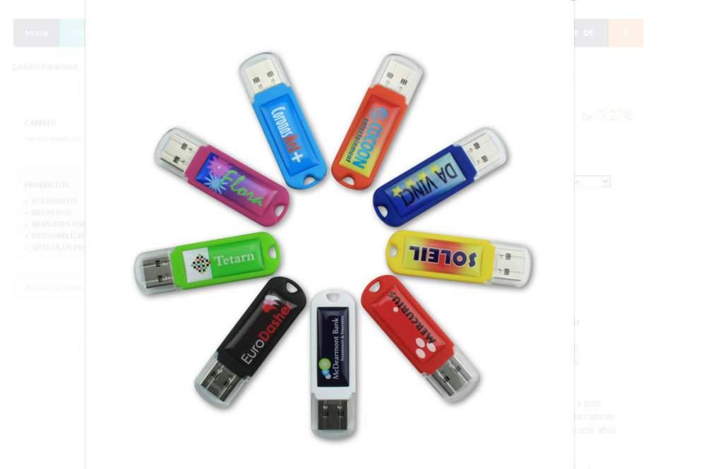 Comprar USB Personalizado Spectra