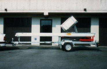 Comprar Elevador de mudanzas sobre remolque Magica 2000