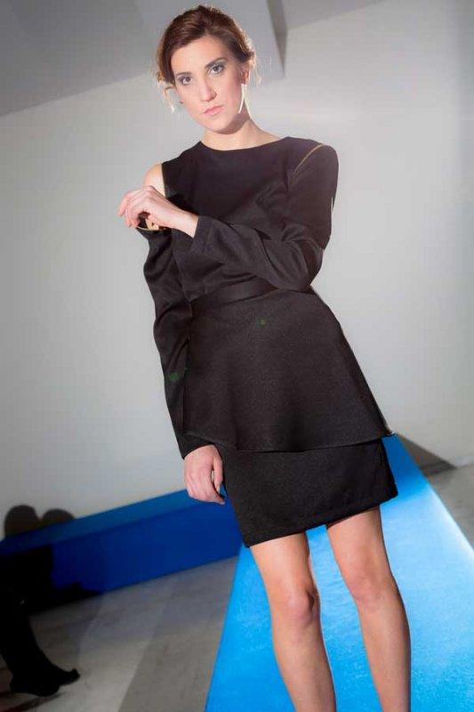 Comprar Vestido negro cuatro posiciones PenadeSuerte