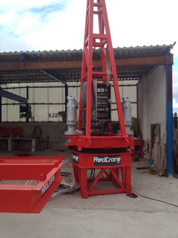 Comprar Tower crane Saez S-52 RECONDITIONED