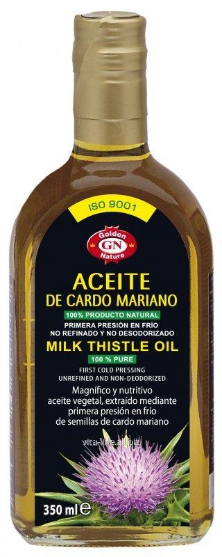 Comprar Aceite de Cardo Mariano Virgen Extra Primera Presion en Frio 0.35L