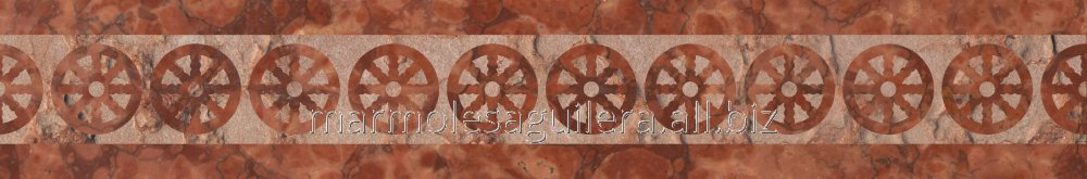 Comprar Red marble frieze