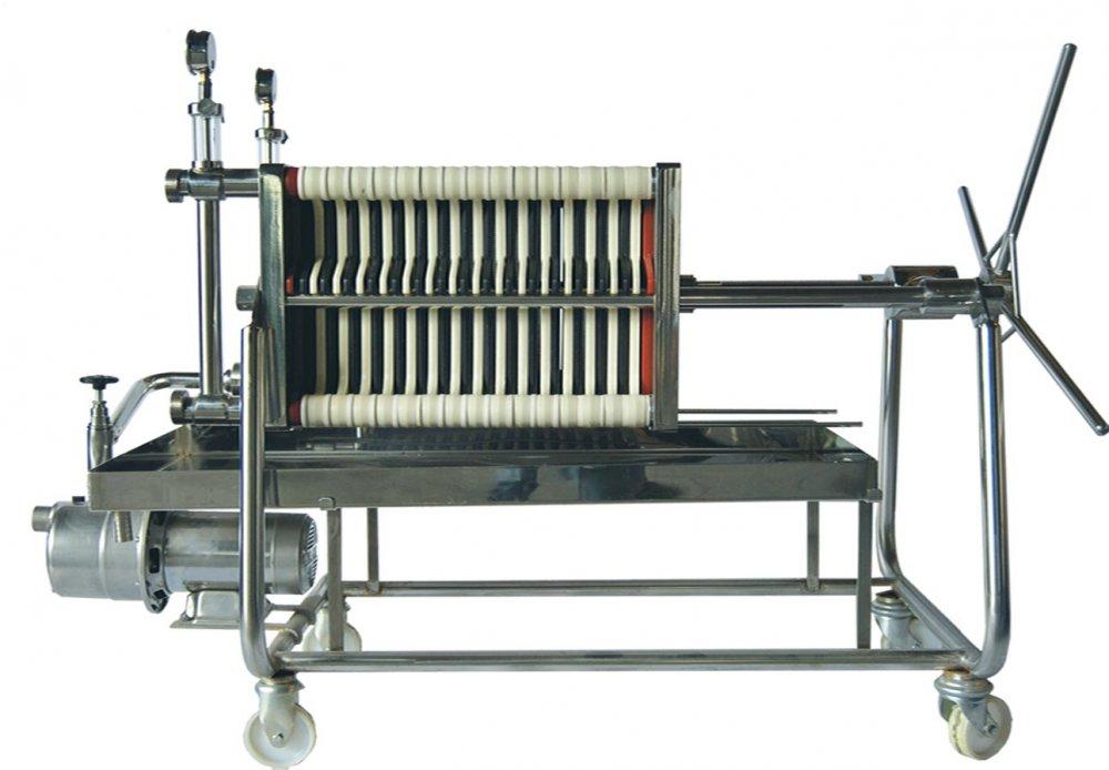 Comprar Filtro de placas 40 x 40 modelo TAURO INOX con bomba