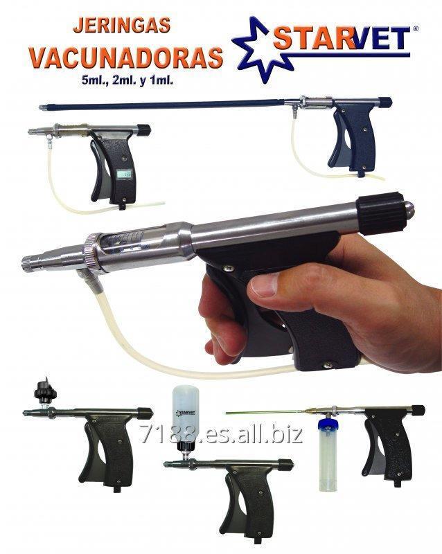 Jeringas vacunadoras StarVet