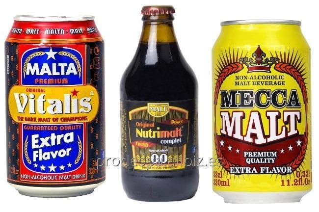 Comprar Bebida de Malta NO ALCOHOL