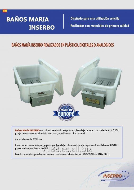 Comprar Baños María INSERBO realizados en plástico