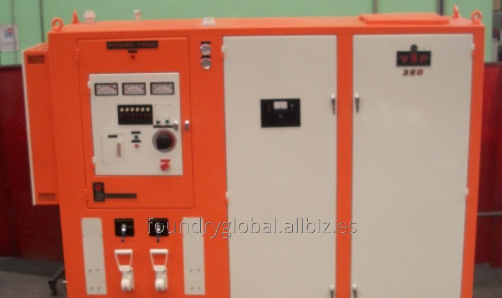 Horno de Inducción para fusión  INDUCTOTHERM POWER TRAK 350