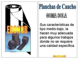 Comprar Plancha Goma 1400x6500x5
