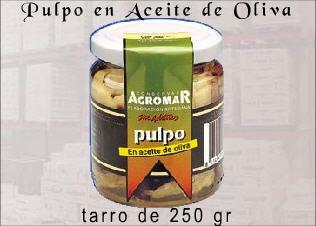 Comprar Conservas, pulpo en aceite de oliva