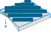 Comprar Estructuras para huertos solares en cubierta EC102
