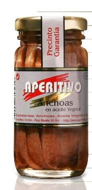 Comprar Conservas de anchoas en aceite vegetal