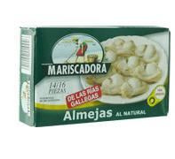 Comprar Almejas blancas al natural en su propio jugo, de las rias gallegas