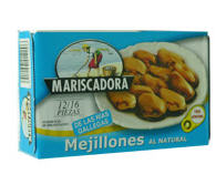 Mejillones al natural
