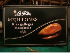 Comprar MEJILLONES RÍAS GALLEGAS ESCABECHE 6/8 P. OL-120