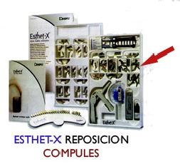 Comprar Composite estético Esthet-X Compules color amber Enamel