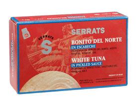 Comprar BONITO DEL NORTE en escabeche (Ref. OL120)