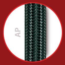 Comprar Tubo de caucho sintético negro con trenzado exterior de polietileno (P.E.)