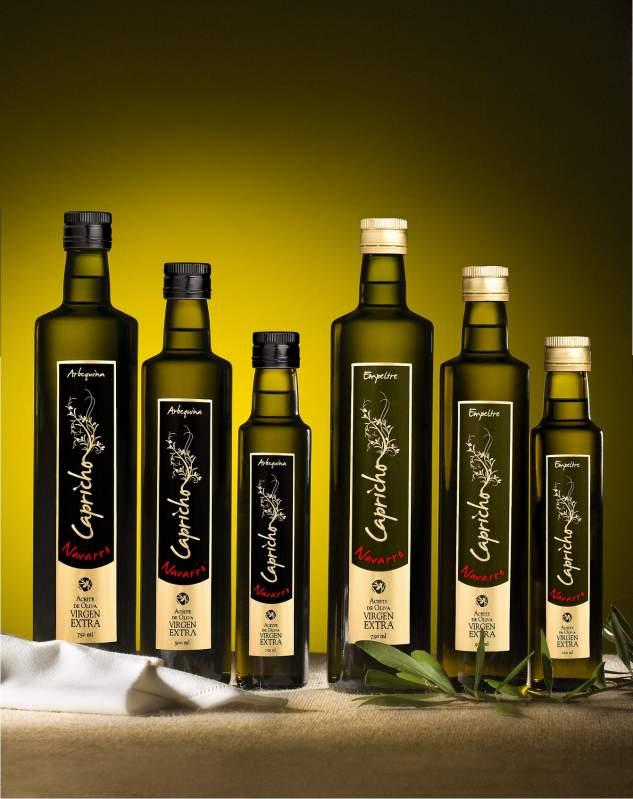 Comprar Aceite de oliva virgen extra monovarietal Arbequina CAPRICHO NAVARRO