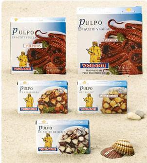 Comprar Pulpo conservado
