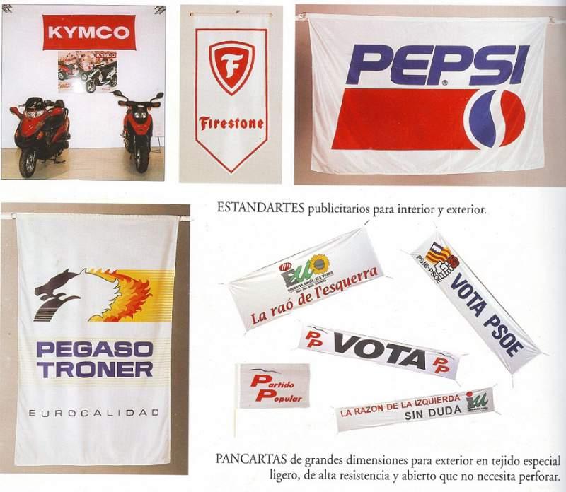 Comprar Banderas publicitarias