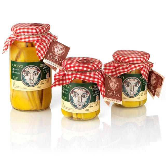 Comprar Tarros de queso en aceite de oliva 250 Y 500 Gr
