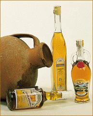 Licor Aguardiente de Orujo con miel