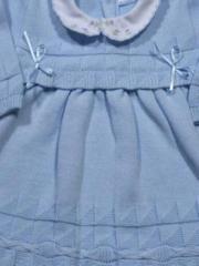 Vestido punto bebé