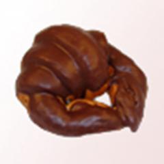 Croissant cobertura chocolate