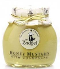 Mostaza con miel y champagne