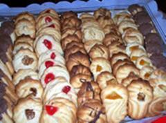 Pastas rizadas variadas