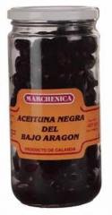 Aceitunas negras bajo Aragón