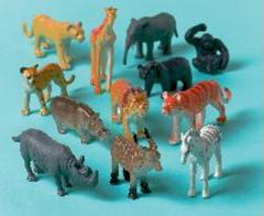 Animales jungla