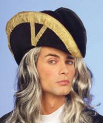 Sombrero Almirante Terciopelo