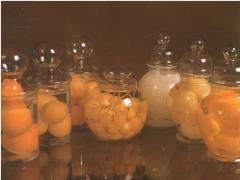 Frutas conservadas