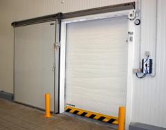Puertas rápidas enrollables de congelación