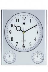 Reloj de pared rectángular