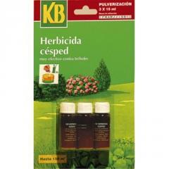 Herbicida césped