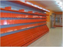 Los muebles para las tiendas Instalaciones