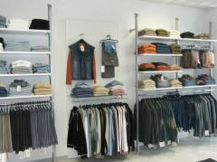 Estanterías metálicas para las tiendas