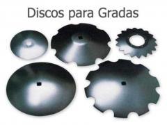 Discos para gradas