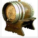 Cubas de madera, barriles, barricas, toneles y