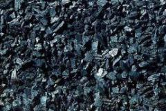 Carbón vegetal de roble