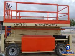 Scissor Lift JLG Liftlux SL125 Дизель 4X4 14.5 meters
