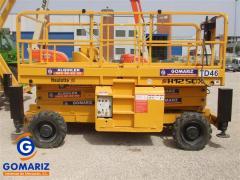 Scissor Lift Haulotte H12SDX Diesel 4X4 12 meters