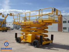Scissor Lift Haulotte H15SDX Diesel 4X4 15 meters